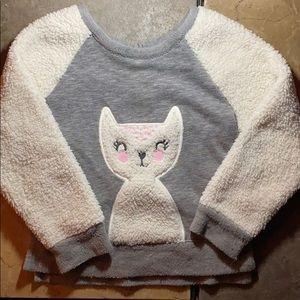 Cat & Jack Sherpa Cat Sweatshirt